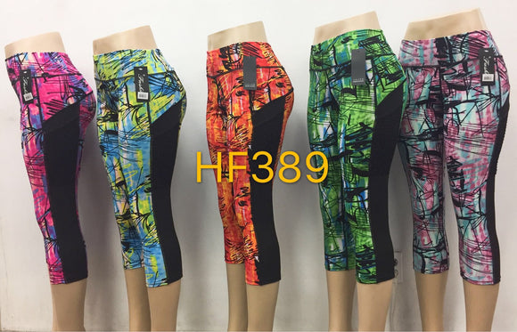 Capri Sports Yoga Gym Workout Legging Pant, HF389