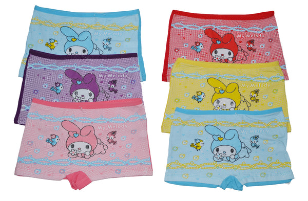 Wholesale Kids Girls Panties Underwear Shorties, HF548 - OPT FASHION WHOLESALE