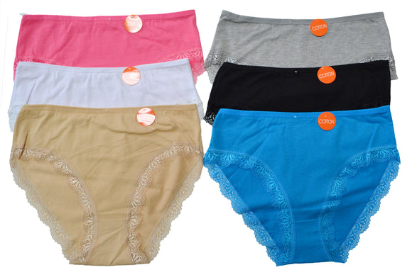 Wholesale Lady Cotton Panties, HF5803 - OPT FASHION WHOLESALE
