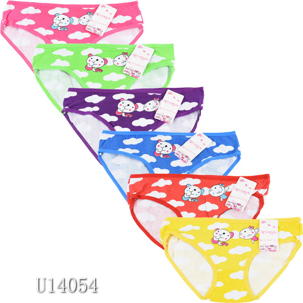 Wholesale Kids Girls Panties Underwear, U14054 - OPT FASHION WHOLESALE