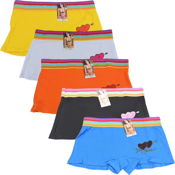 Wholesale Lady Shortie Panty Boyshorts, U16021