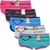 Wholesale Lady Shortie Panty Boyshorts, U16022