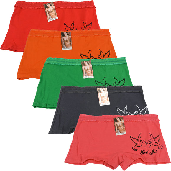 Wholesale Lady Shortie Panty Boyshorts, U16023 - OPT FASHION WHOLESALE