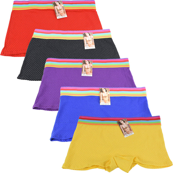 Wholesale Lady Shortie Panty Boyshorts, U16024