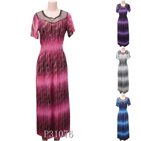 NYC Wholesale Fashion Long Maxi Dresses Summer Sundresses, P31076 - OPT FASHION WHOLESALE