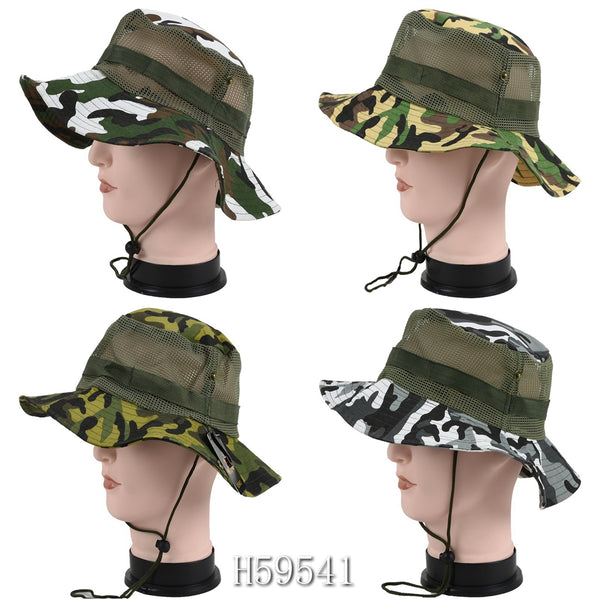 Wholesale Summer Sun Fishing Cap Hats H59541 - OPT FASHION WHOLESALE
