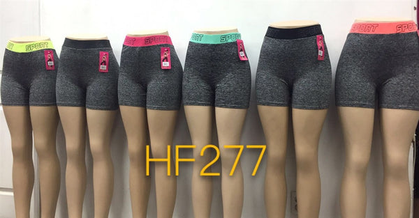 NYC Wholesale Lady Girls Yoga Short Sports Leggings, HF277 - OPT FASHION WHOLESALE