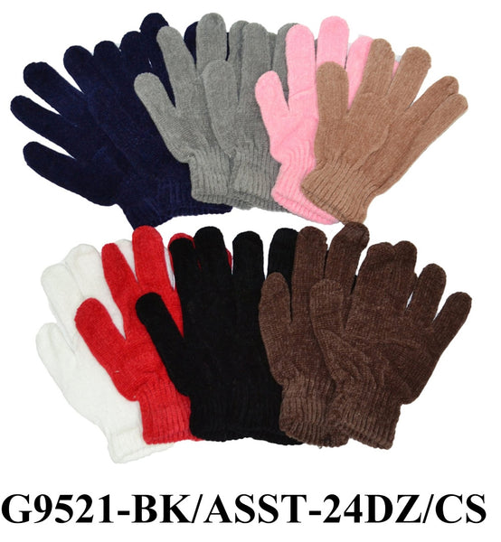 Chenille Magic First Quality Gloves G9521 - OPT FASHION WHOLESALE