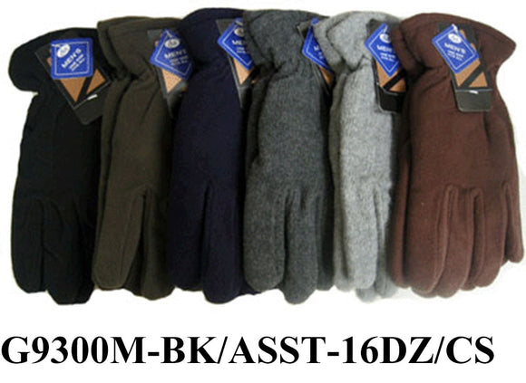 Men Fleece Insulation High Quality Gloves Elastic G9300M - OPT FASHION WHOLESALE