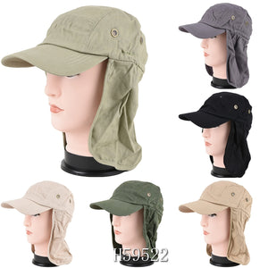 Wholesale Summer Sun Windproof Fishing Cap Hats H59522