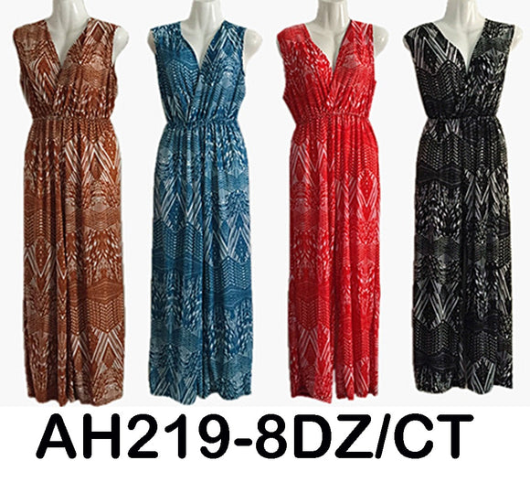 NYC Wholesale Fashion Jumpsuits Vintage Jumper Mix Prints Sundresses, AH219 - OPT FASHION WHOLESALE