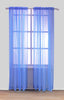 Elegance Sheer Voile Rod Pocket Window Curtain Panel, 81010 - OPT FASHION WHOLESALE