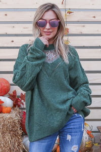 Pine Lace, Pullover