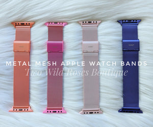 Apple Watch Bands, Stainless steel