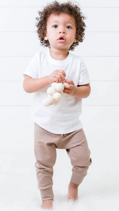 Ultimate Sublimation Tee, Toddlers White Rabbit