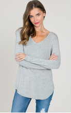 Gone Gray, Long Sleeve Top