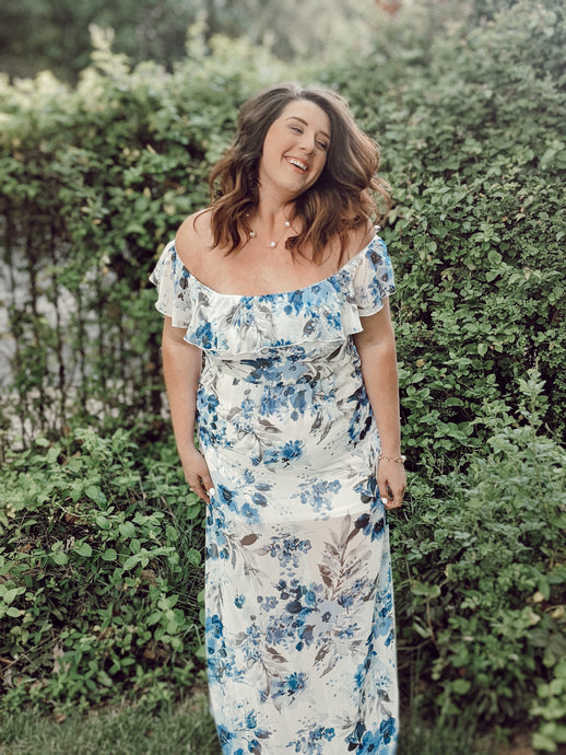 Watercolor Breeze, Plus Maxi