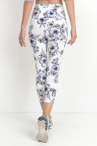 Heavenly Hibiscus, High Waisted Capri's