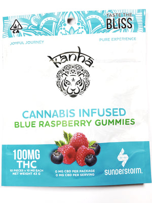Kanha - Treats Blue Raspberry Gummies