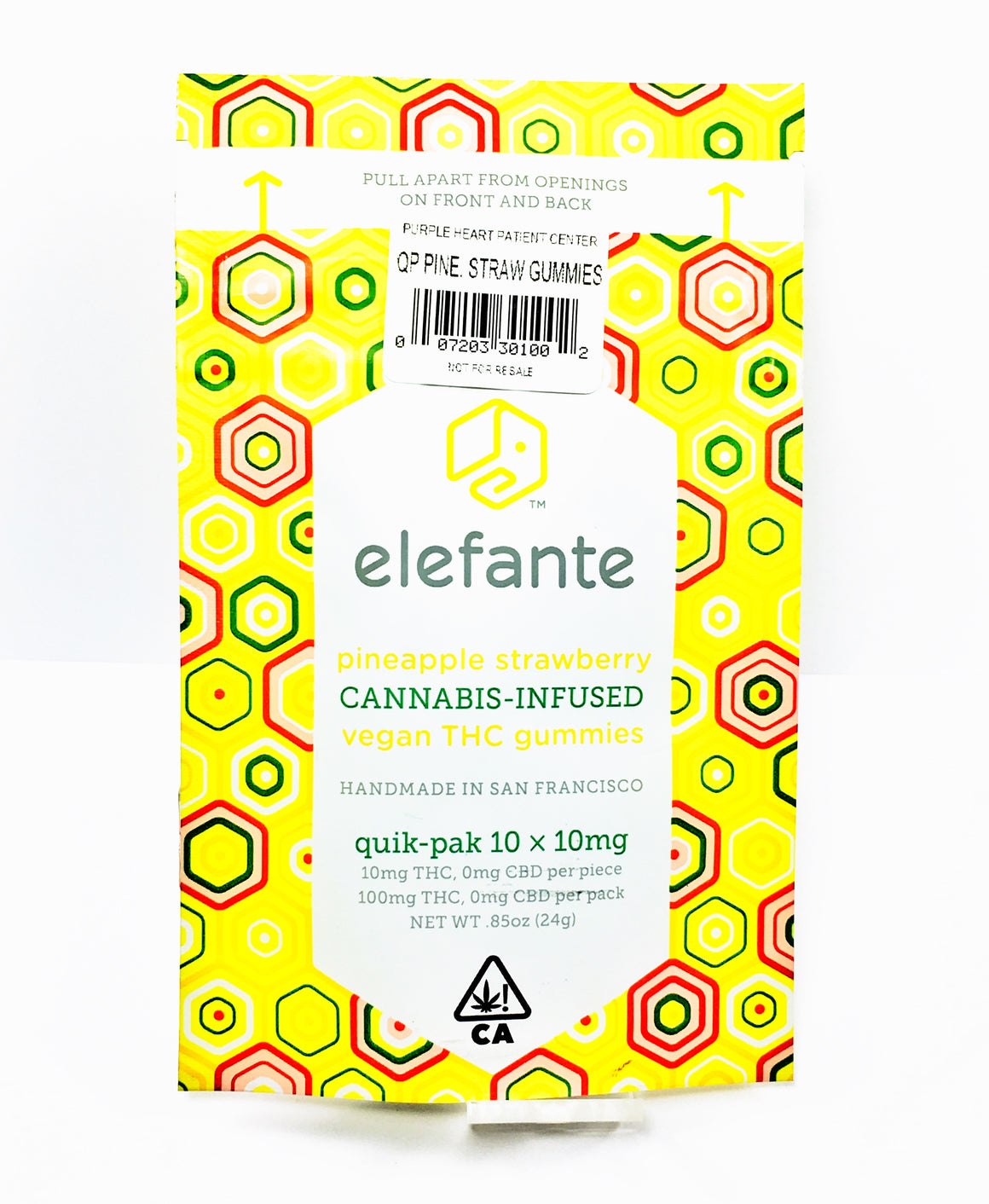 Elefante - Quik Pak Pineapple Strawberry Gummies