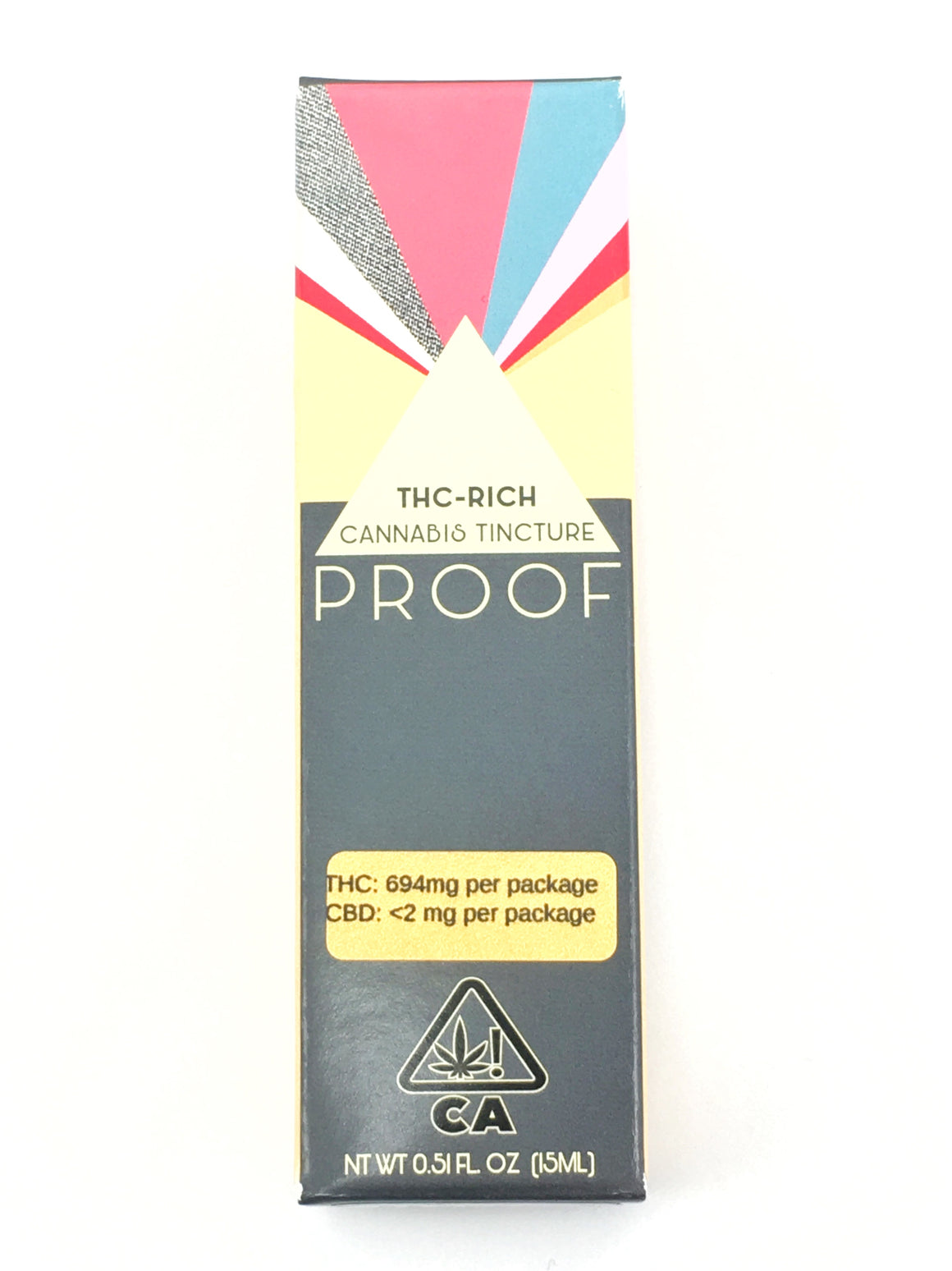 Proof - THC Rich Tincture (900 mg)