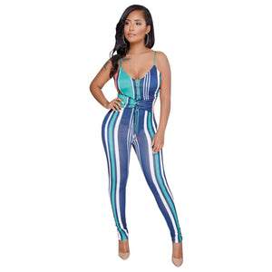 Cotton Print sexy Jumpsuits & Rompers - Trenberry