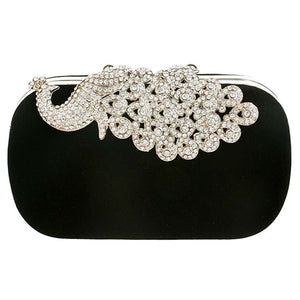 Peacock Rhinestones evening bags - Trenberry