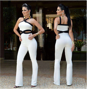 Elegant Jumpsuit women Summer Sleeveless Sexy Ladies Bodysuit - Trenberry
