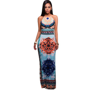 Maxi Dress Summer Bohemian Boho Dress - Trenberry