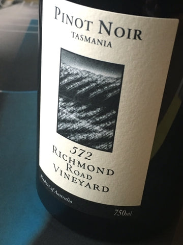 572 Richmond Road 2018 Pinot Noir