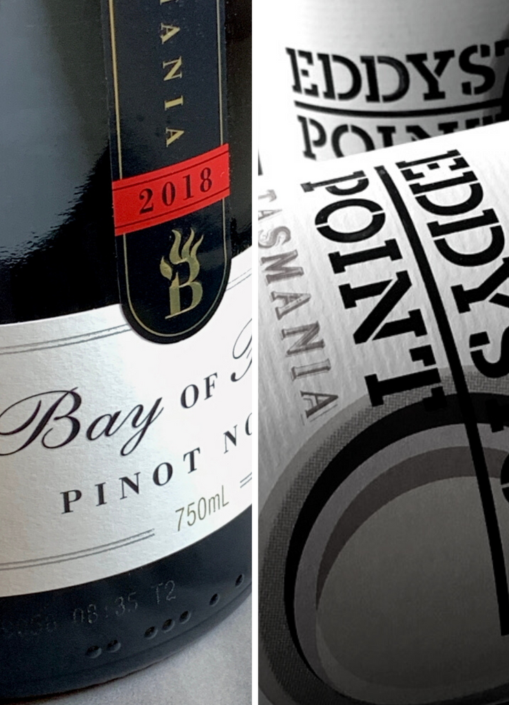 Bay of Fires & Eddystone Point Pinot Noirs