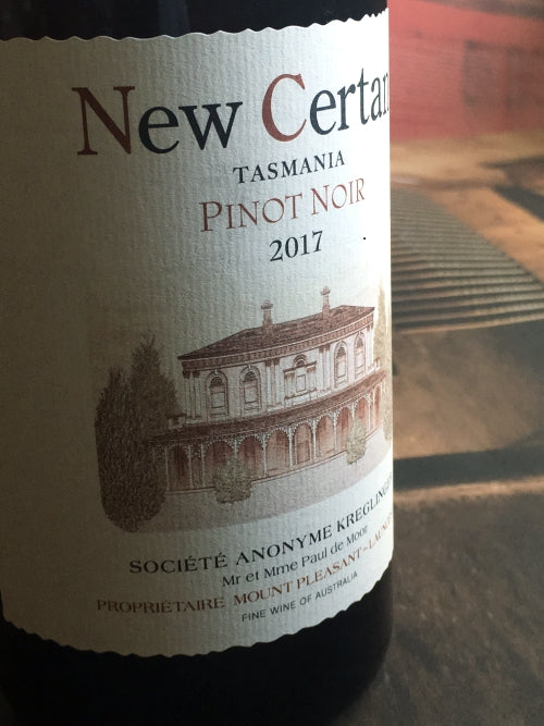 New Certan 2017 Mount Pleasant Pinot Noir