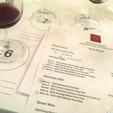World Pinot Challenge HK Wines