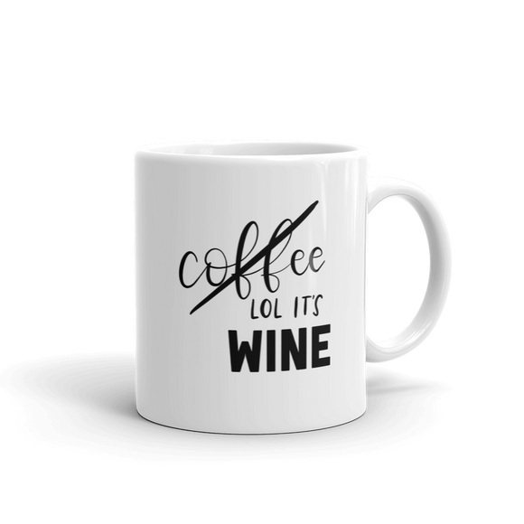 lol it's wine ::mug::
