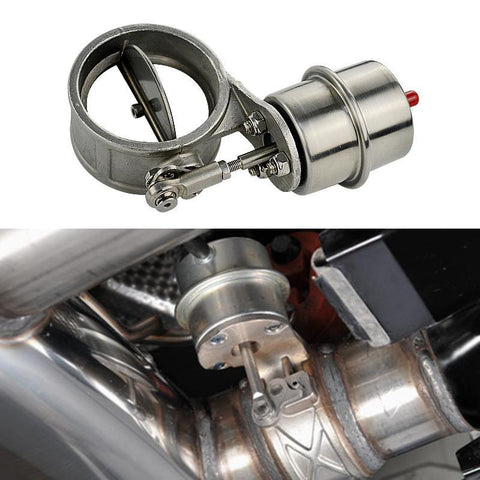 "ProFlow Vacuum Actuated Exhaust Activated 3"" Inch Exhaust Cutout Cutouts Boosted 2.5"" 2"" 3.5"" 4"""