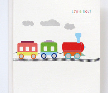 BB154 Baby Card Choo Choo
