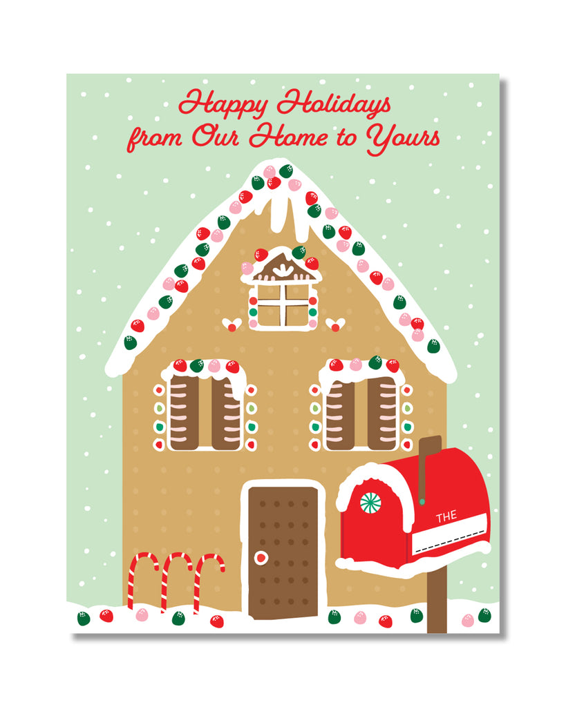 C363 Gingerbread Home - NEW!