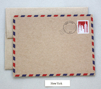 CNB3 New York City Notecard