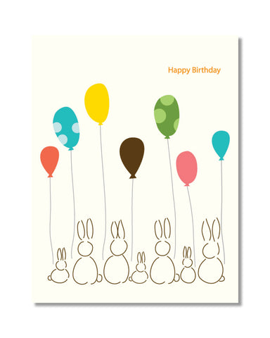 H112 Birthday Bunnies