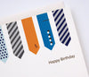 H143 Birthday Ties