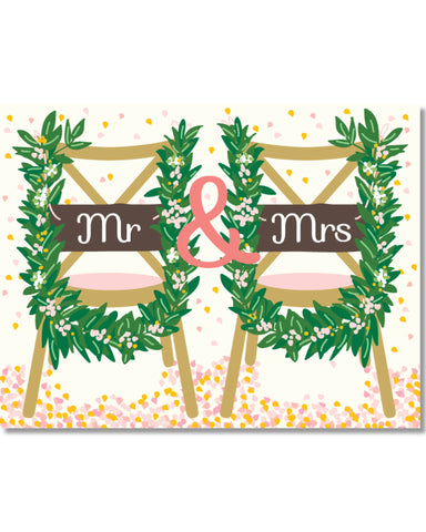 W324 Mr & Mrs Chairs