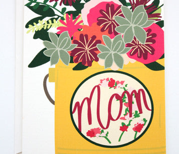 MD264 Mom Floral Can