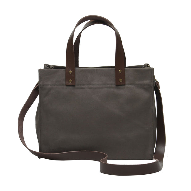 Brooklyn Tote with Leather Straps