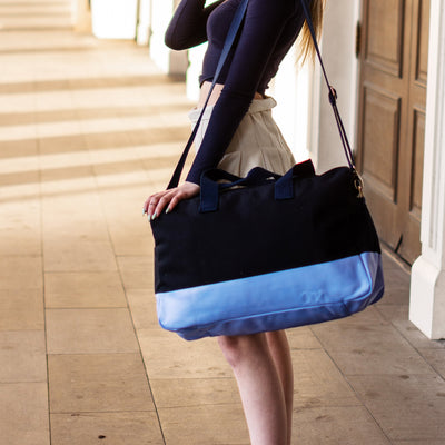 Color Block Duffle - Navy Tag&Crew