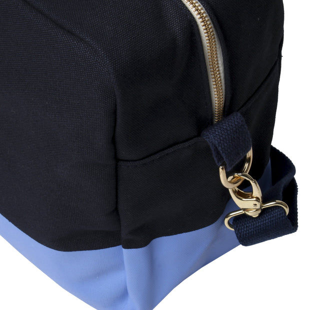 Color Block Duffle - Navy