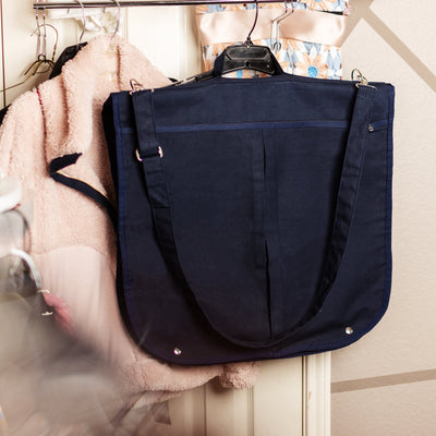 Garment Bag Navy TagandCrew