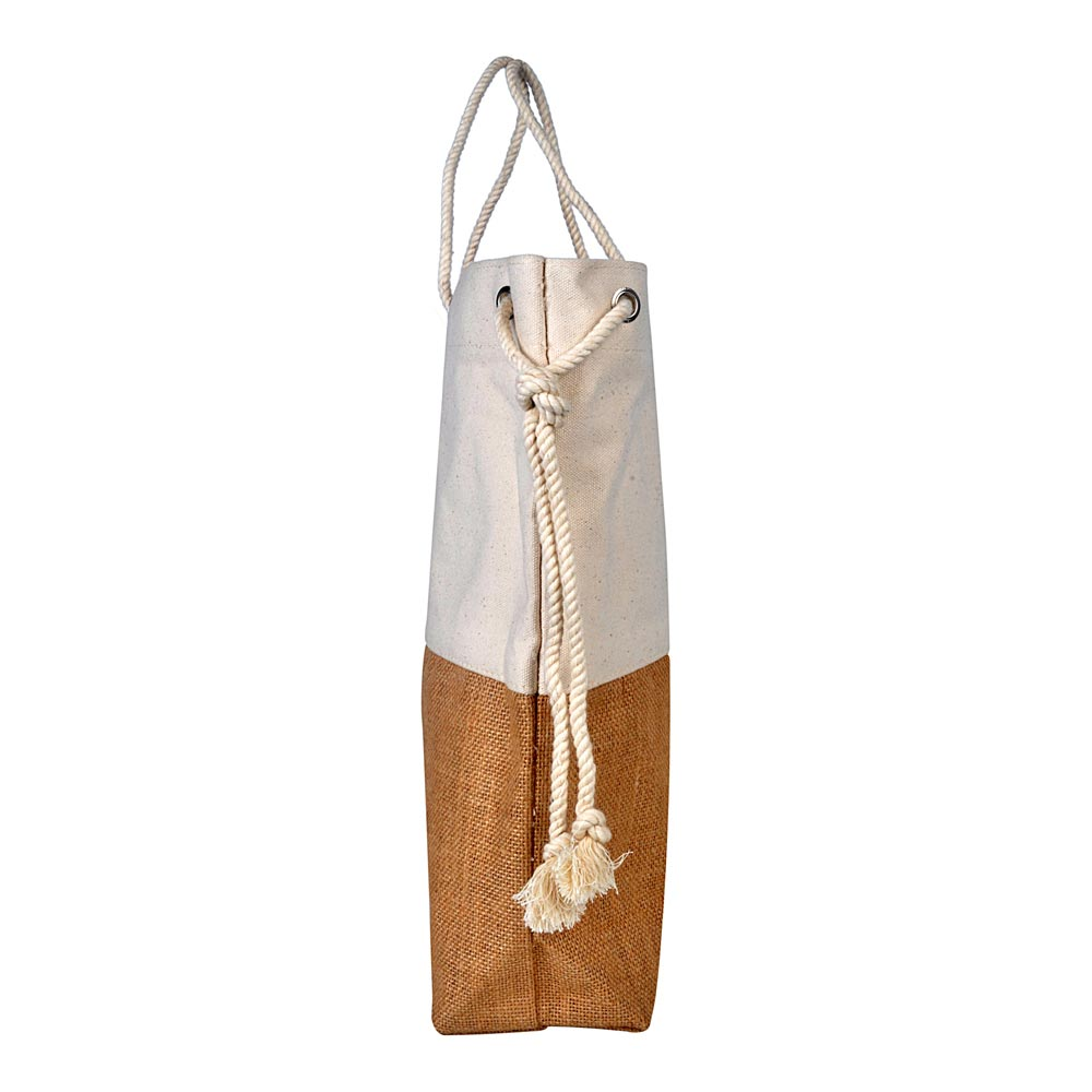 Jute with Rope Natural