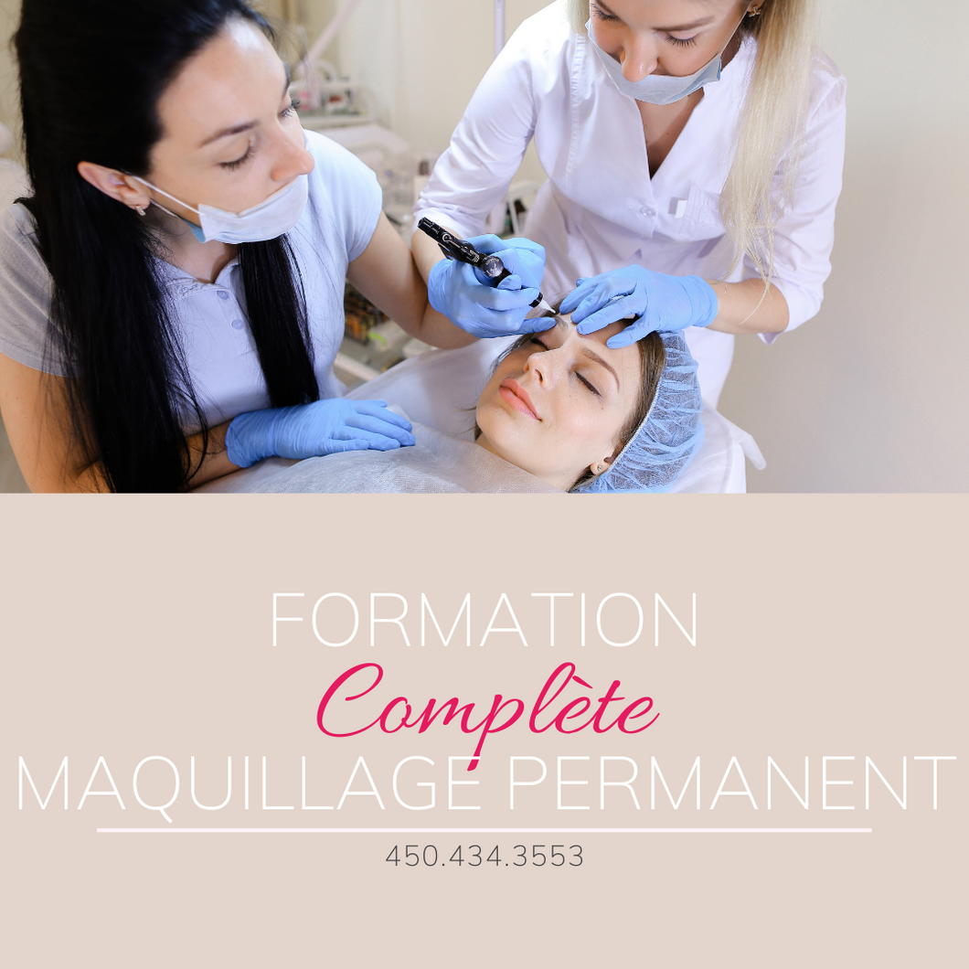 Formation Maquillage Permanent Complète