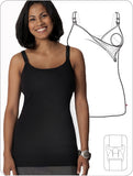 Nursing Bra Full Bust Slimming Long Top (sale)