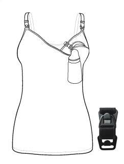 Hands Free Pumping Accessory Clip